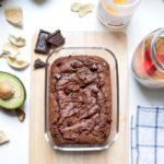 Brownie Vegano hecho con Aguacate