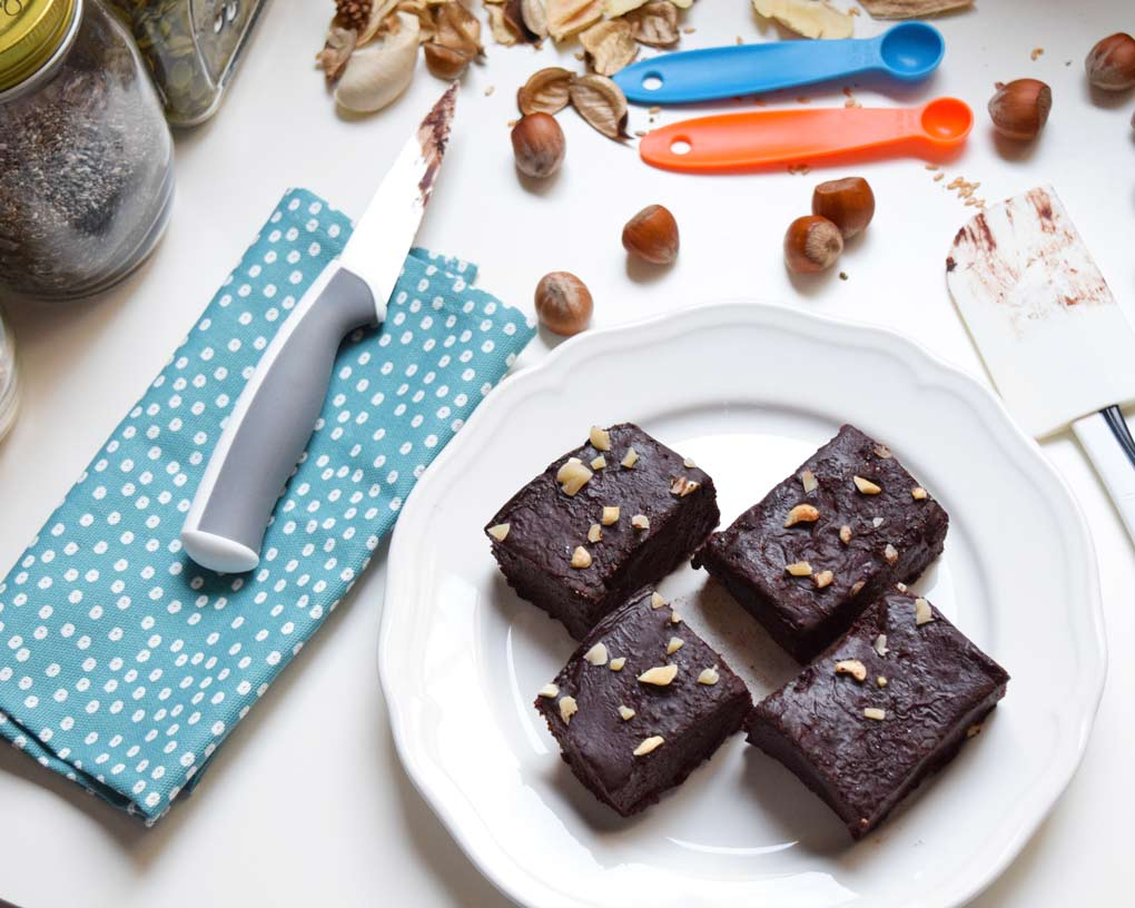 receta brownie crudivegano tres ingredientes
