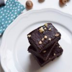 3 ingredient Raw Vegan Brownie (sugar and gluten free)