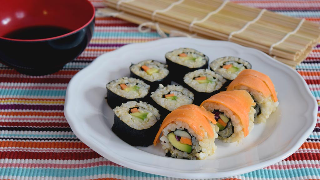 Vegan Sushi easy to make at home